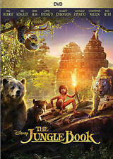 The Jungle Book (DVD, 2016, Widescreen, Region 1) Usually ships in 12 hours!!!