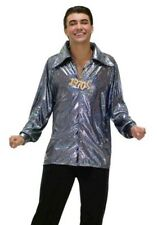 Mens Disco Fever 70's 1970's Seventies Shirt Fancy Dress Costume