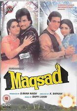 MAQSAD - RAJESH KHANNA - JITENDRA - JAYA PRADA - SRI DEVI - NEW BOLLYWOOD DVD