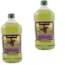 2X Kirkland Signature Grapeseed Oil, with Antioxidants Good for all cooking