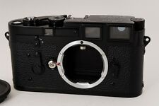 NEAR MINT 1956y Leica M3 DS Black Repaint Gloss Specification from japan #877