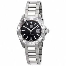 Tag Heuer Aquaracer Black Dial Stainless Steel Ladies Watch WAY1410.BA0920