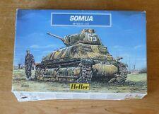 Heller 1/72 scale French Somua S35 tank kit