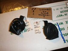 1965 delco remy horns LOUD 9000 475 9000 476 SWEET pair 1 loose bracket 5A1 5A4