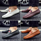 Men's Casual Leather Slip Ons Loafers Driving Moccasins Dress Shoes Sneakers