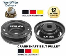 FOR OPEL VAUXHALL VECTRA C GTS 1.6 1.8 2006  CRANKSHAFT CRANK SHAFT BELT PULLEY