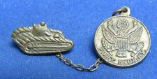 WWI Era 1920s Fort Knox, KY Army Armored Corps Tank Sweetheart Pins