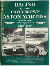 RACING WITH THE DAVID BROWN ASTON MARTINS VOL 2 CAR MARQUE HISTORY BOOK