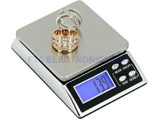 2000g x 0.1g Household Jewelry Digital Backlit LCD Electronic Pocket Size Scale