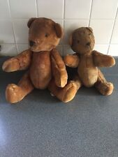 "Vintage Teddy Bears By CMC Cleveland Ohio 1990 16"",14"" Jointed"