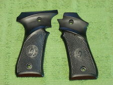 Custom Grips for Llama Model lll & lllA .380 Black