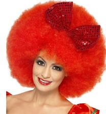 Ladies Smiffys Mega Afro Fancy Dress Wig Clown Retail Boxed New by Smiffys