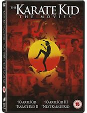 KARATE KID Box Set Collection 1 + 2 + 3 + 4 [DVD] #NEU#  Teil 2-4 Deutsch