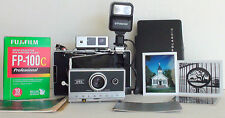 Polaroid 250 LAND CAMERA ZEISS R/F, AAA POWER, RESTORED TO MAKE PHOTOGRAPH AGAIN