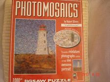 NEW Robert Silvers PHOTOMOSAICS Lighthouse 1000 Piece Puzzle Free P and P NEW