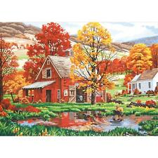 "FRIENDS OF AUTUMN Paint by Number Kit  20"" x 14"""
