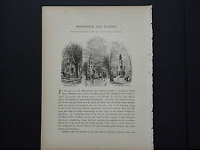 One In-Text Engraving, c 1872 S4#156 Providence and Vicinity, Rhode Island
