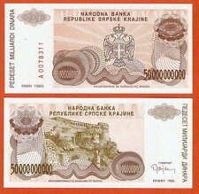 Pr29 croatia/croacia krajina 50 millones dinara UNC
