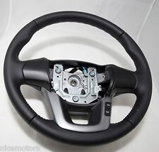 Leather 561001W101HU Genuine Steering Wheel For KIA RIO 2012-2014
