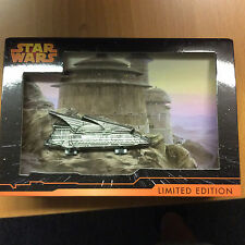 DISNEY JUMBO HINGE PIN STAR WARS Weekends 2015 LE Jabba's Sail Barge