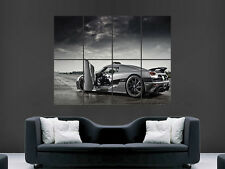 KOENIGSEGG AGERA  SUPERCAR  GIANT PRINT POSTER PICTURE ART