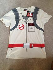 GHOSTBUSTERS 30th Anniversary T-Shirt M COLLECTABLE  Stantz Uniform ,Back Print