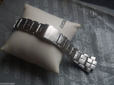 SEIKO Z15 SPORTURA HEAVY STAINLESS STEEL  WATCH STRAP BRACELET Ref No 33S5JZ