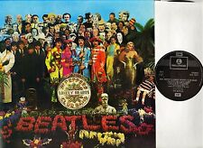 THE BEATLES sgt pepper's lonely hearts club band PCS 7027 remastered uk LP EX/EX