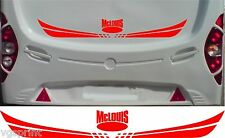 MCLOUIS CARAVAN/MOTORHOME 2 PIECE KIT DECALS CHOICE OF COLOURS & SIZES