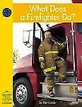 What Does a Firefighter Do (Yellow Umbrella Books)