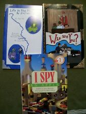 (LOT OF 3 BOOKS) Life in the Mississippi, Who are You? and I Spy an Apple (PBKS)