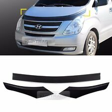 Smoke Bonnet Guard Molding Trim D686 3P for HYUNDAI 2007-2017 Starex i800 iMax