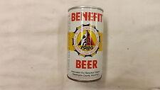 Vintage Benefit 1980 Lithia Baseball Beer Can Steel j