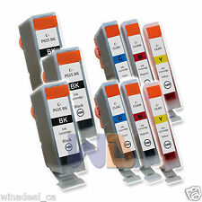 9 PK PGI-5 CLI-8 Canon PGI-5BK CLI-8 Ink Cartridge for Canon MX700 MP520 IX4000