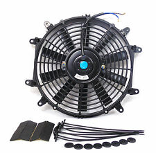 "Premium 14"" 14 Inch Slim Universal Electric Radiator Cooling Fan 8 Mount points"