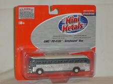 MINI METALS HO SCALE GMC PD 4103 GREYHOUND BUS 1:87 SCALE