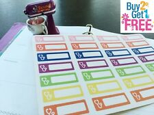 PP56 -- Small Doctor Appointment Life Planner Stickers for Erin Condren (28pcs)