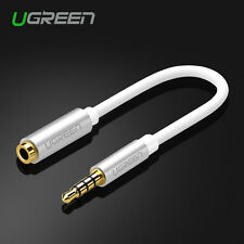 Ugreen 3.5mm Earphone Splitter Audio Cable Male to Female Jack Adapter Cable