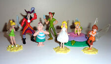 Disney Peter Pan Hook Tinkerbel Fairy pvc lot, toys, cake toppers, collectibles