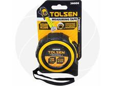 Tolsen 10M 33FT Nylon Coated Heavy Duty Measure Measuring Tape Metric & Imperial