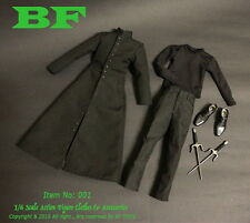 """1/6 THE MATRIX NEO Clothing Accessories Kit Sets F 12"""" Male Figure BF Toys"""