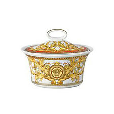 "VERSACE  BY ROSENTHAL, GERMANY  ""ASIAN DREAM."" SUGAR BOWL, COVERED."