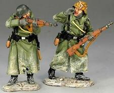 KING & COUNTRY BATTLE OF THE BULGE BBG025 VOLKSGRENADIER RIFLE SUPPORT MIB