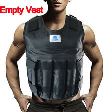 Zooboo Max Load 44LB/20KG Adjustable Weight Vest Jacket Workout Training Fitness