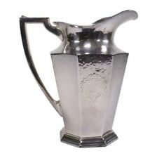 Silver Water Pitcher Lot 924
