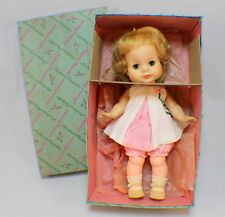 """Madame Alexander 12"""" Vintage Janie Doll in original box and clothes #1158"""
