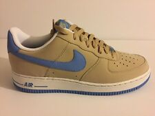 *New* 2006 Nike Air Force 1 07 sz. 10 Linen/Uni Blue