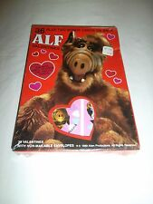 "1989 Vintage Original Alien Productions ""ALF"" 36 Piece Valentines Day Cards"