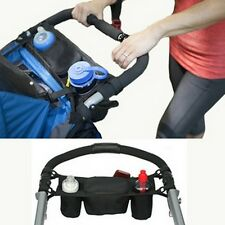 Baby Pram Pushchair Stroller Buggy Cup Bottle Drink Food Holder Storage Bag - CB