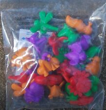Preschool minibeasts BUGS INSECTS creature COUNTERS (24) maths sorting / colours